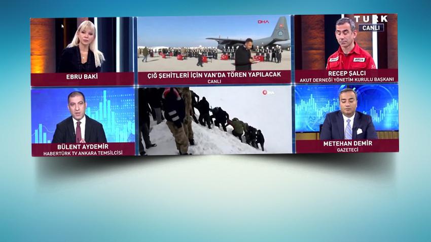 HaberTürk Ankara Temsilcisi: Çığa Cumhurbaşkanı Başdanışmanı sebep oldu