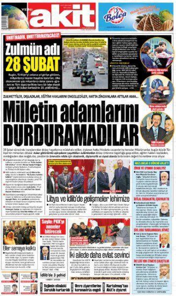 Gazeteler İdlib'deki şehitlerin haberlerini nasıl gördü? - Sayfa 2
