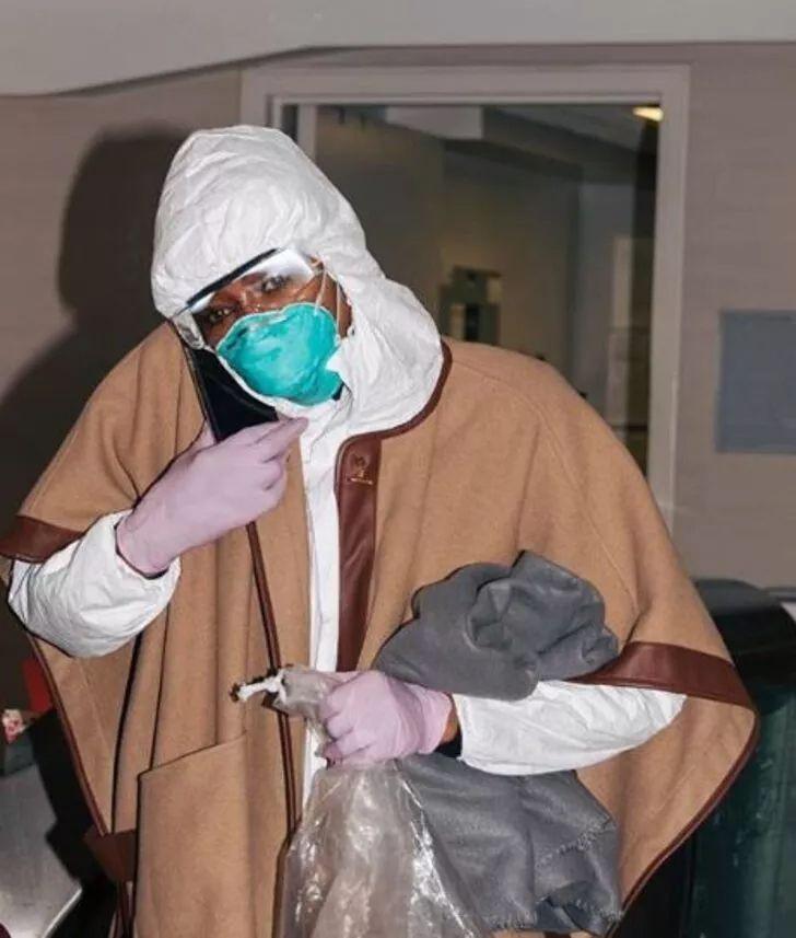 Naomi Campbell'ın koronavirüs önlemi! Görenler tanıyamadı - Sayfa 2