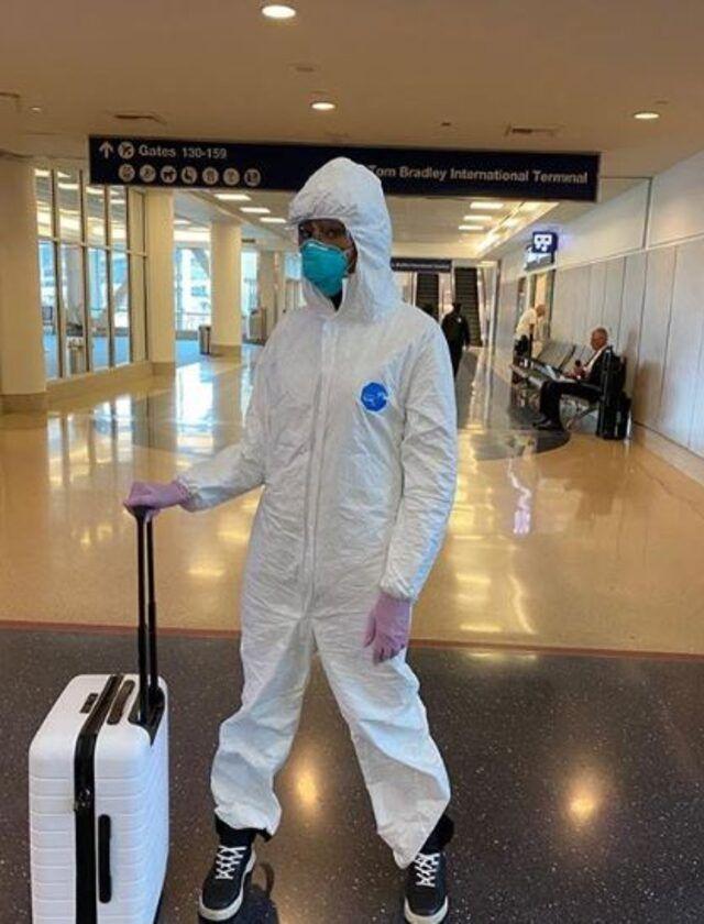 Naomi Campbell'ın koronavirüs önlemi! Görenler tanıyamadı - Sayfa 3