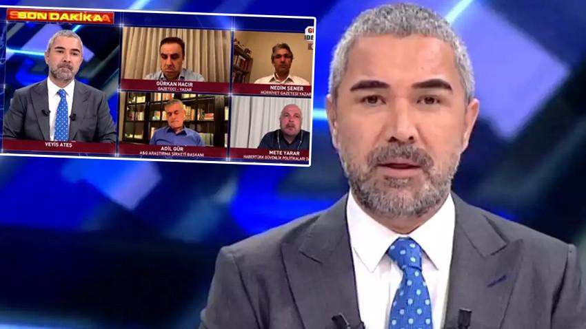 Veyis Ateş'ten canlı yayında 'yellenme' açıklaması