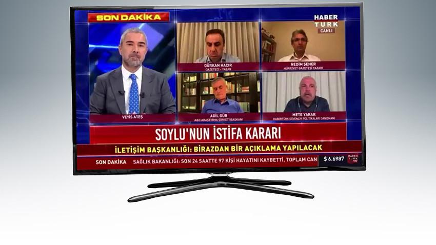 Türkiye bu videoyu konuşuyor! Habertürk canlı yayınında kim yellendi?