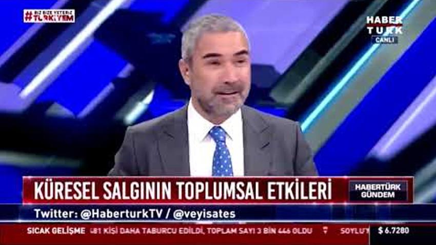 Habertürk TV'deki gaz çıkarma sesine Veyis Ateş'ten açıklama