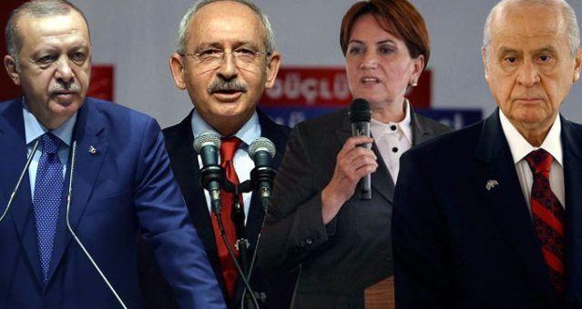 Son seçim anketinde dikkat çeken sonuç! 4 parti barajı geçiyor! - Sayfa 1
