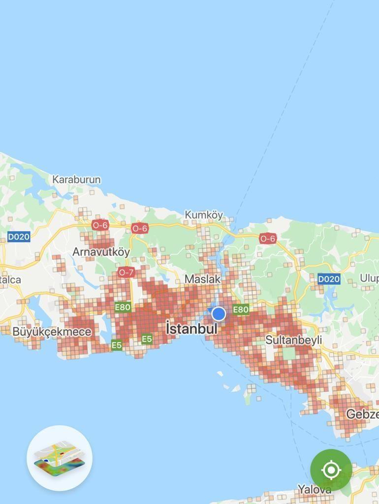 İstanbul'un korona haritasının 14 günlük değişimi! İşte ilçe ilçe son durum - Sayfa 1