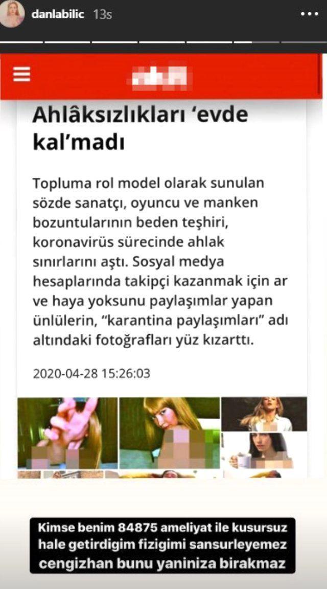 Yeni Akit'in sansürlü haberine Danla Bilic'ten olay cevap - Sayfa 3