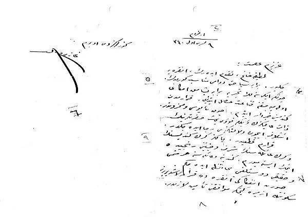 Kendi el yazısıyla Atatürk'ün görülmemiş not defteri - Sayfa 1