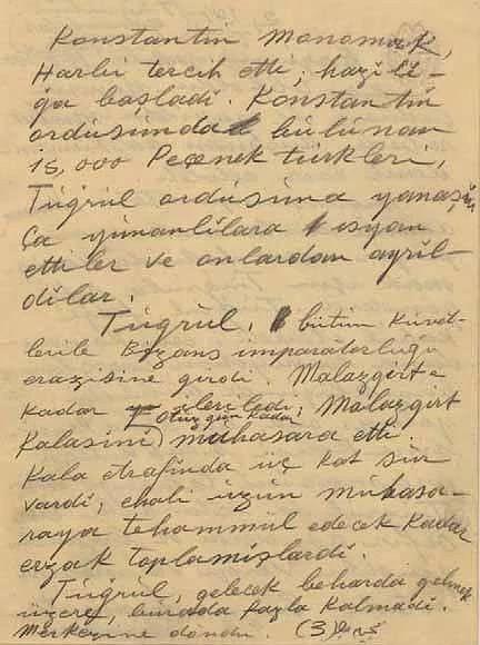 Kendi el yazısıyla Atatürk'ün görülmemiş not defteri - Sayfa 4