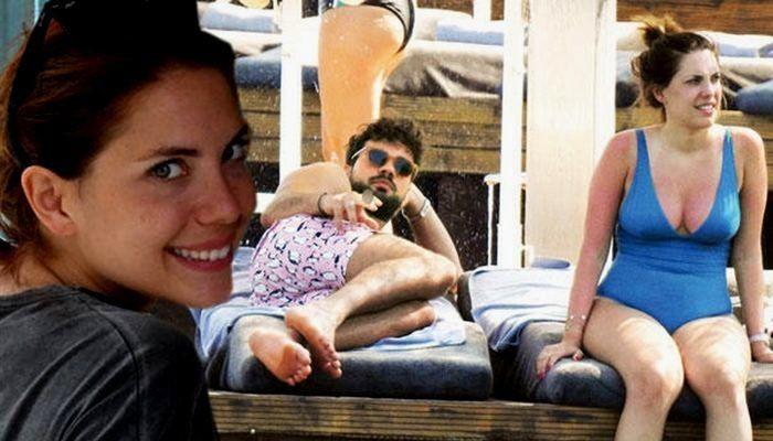 Yasak Elma'nın Yıldız'ı sevgilisiyle tatilde! Bu kez bikinili yakalandı... - Sayfa 1