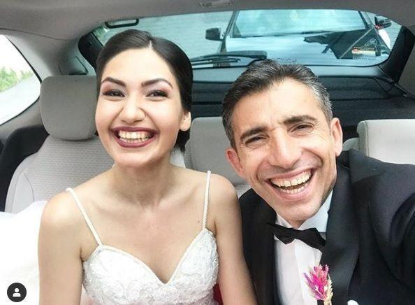 Oyuncu Mert Turak ile Birgül Kurtçu evlendi - Sayfa 1