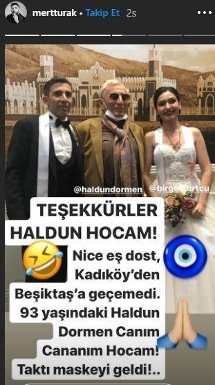 Oyuncu Mert Turak ile Birgül Kurtçu evlendi - Sayfa 3