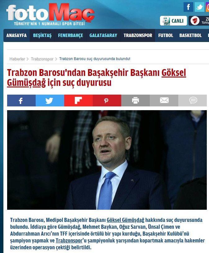 Turkuvaz Medya Erdoğan'ın akrabası Gümüşdağ'a karşı - Sayfa 1