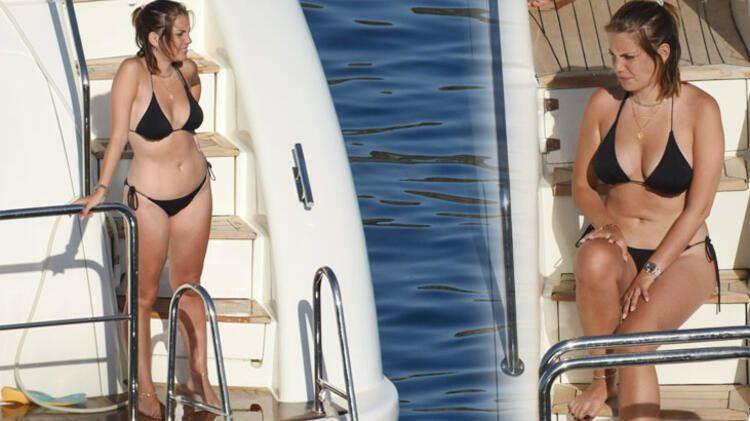 Eda Ece yeni yaşını teknede kutladı - Sayfa 1