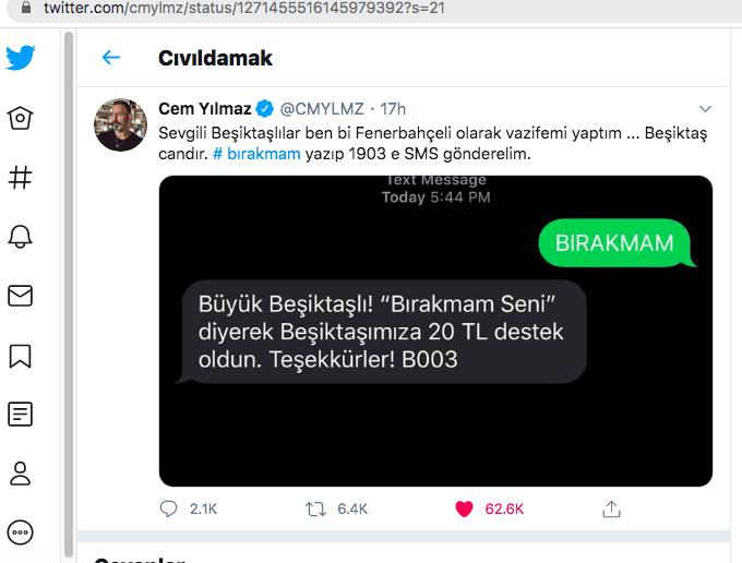 Haluk Levent'ten Beşiktaş'a konser desteği! - Sayfa 2