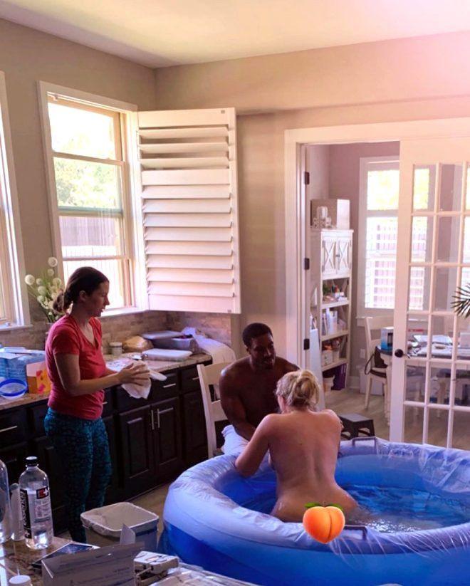 Ünlü model Iskra Lawrence, suda doğum yaptığı anlarını paylaştı - Sayfa 2