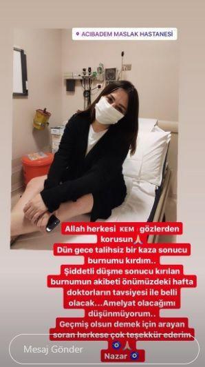 Reyhan Karaca'nın talihsiz kazası! Kanlar içinde kaldı! - Sayfa 3