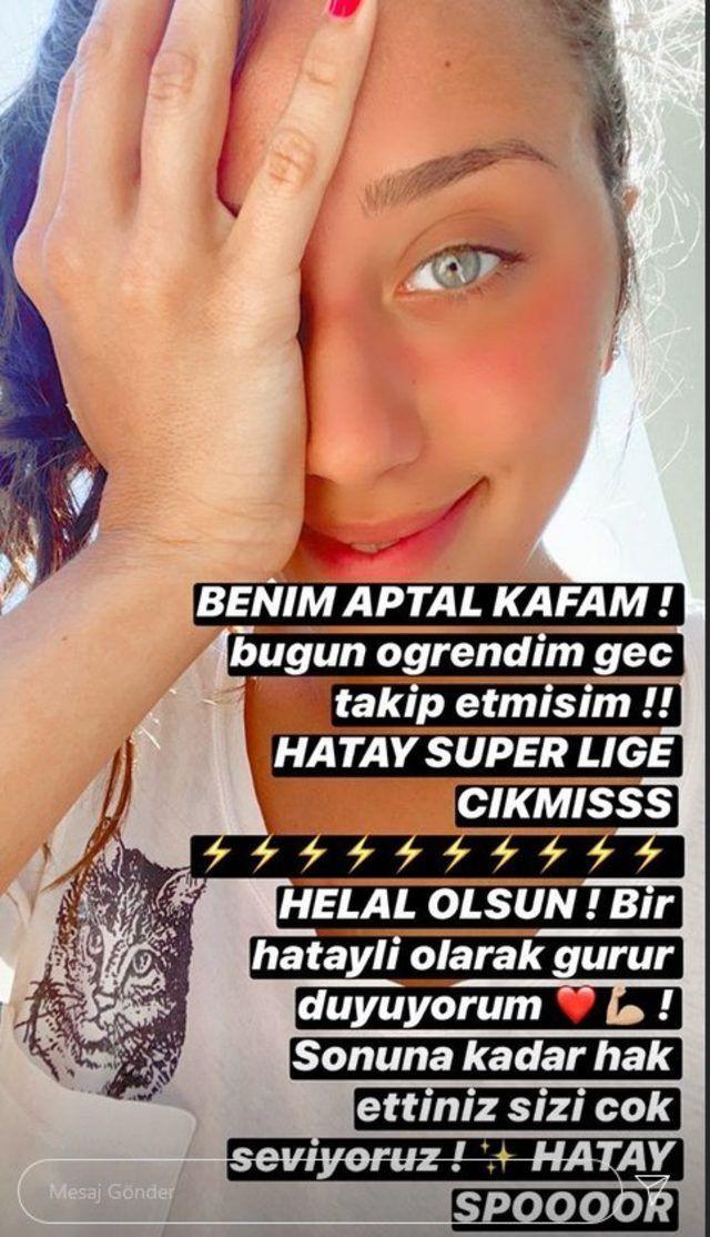 Zeynep Alkan Hatayspor paylaşımı sosyal medyayı salladı: Benim aptal kafam! - Sayfa 3