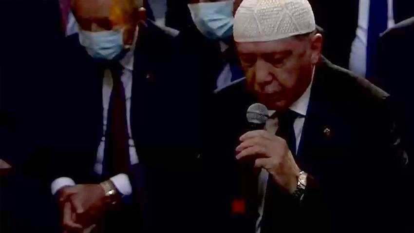 Cumhurbaşkanı Erdoğan Ayasofya Camii'nde Kur'an-ı Kerim okudu