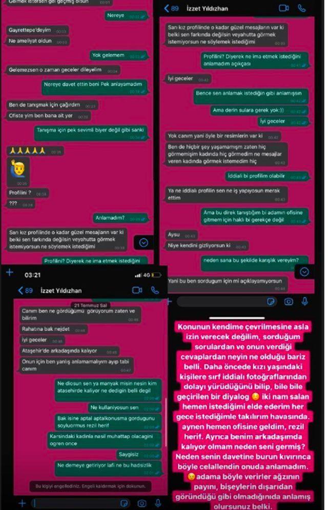 İzzet Yıldızhan'ın müstehcen mesajları ifşa oldu! Aysu Varol'u ofisine davet edince... - Sayfa 4
