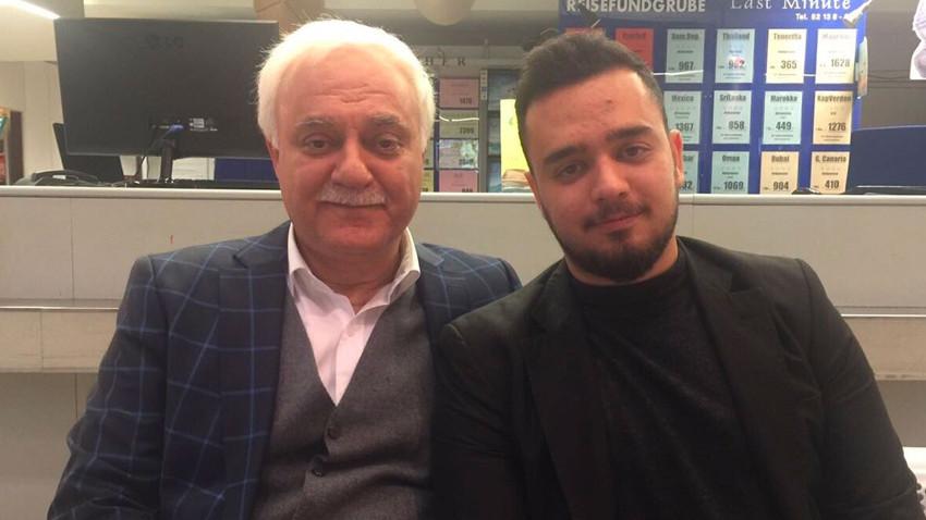 Nihat Hatipoğlu'nun oğlu olumsuz yorumlara isyan etti: Kininizle geberin