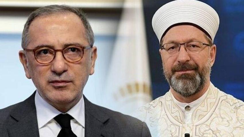Diyanet'ten Fatih Altaylı'ya tepki: Tamamen iftira