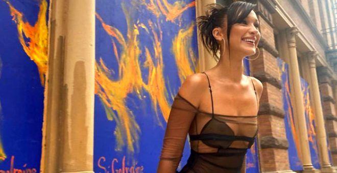 Bella Hadid çıplak fotoğrafını paylaştı - Sayfa 1
