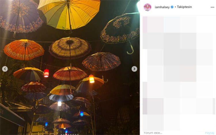 Ünlü şarkıcı Halsey'in İstanbul paylaşımları şaşırtıyor - Sayfa 3