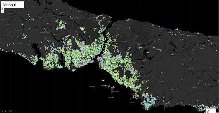 İşte İstanbul'da ilçe ilçe koronavirüs haritası! Son 7 günde değişti... - Sayfa 2