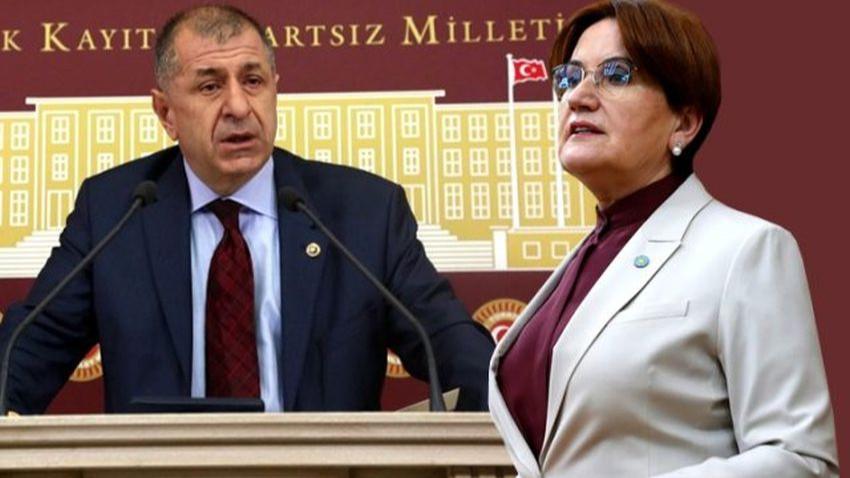 İYİ Parti'de FETÖ kavgası büyüyor! Ümit Özdağ'dan Akşener'e yanıt gecikmedi!