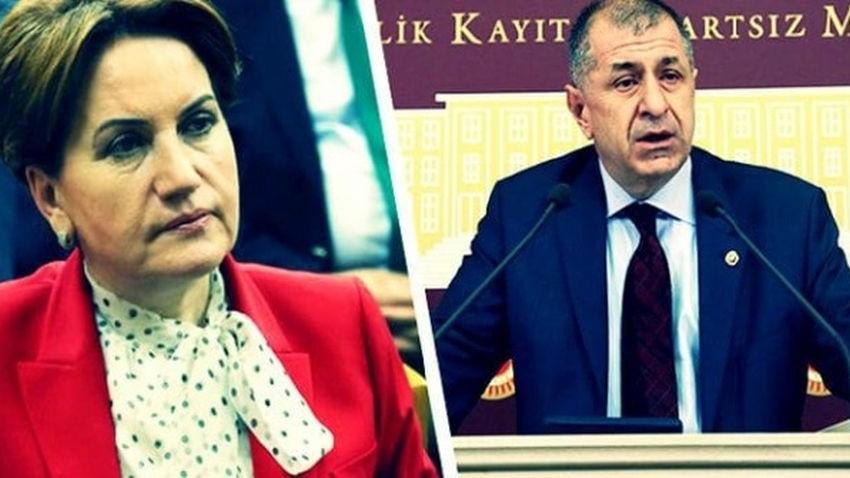 Akşener'den Özdağ'ın 'FETÖ' iddiasına yanıt