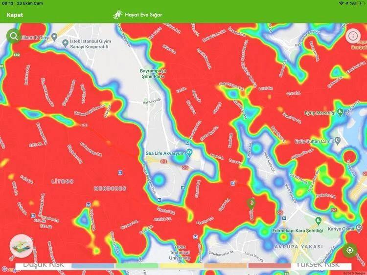 İstanbul koronavirüs haritası şoke etti! İşte ilçelerin durumu... - Sayfa 13