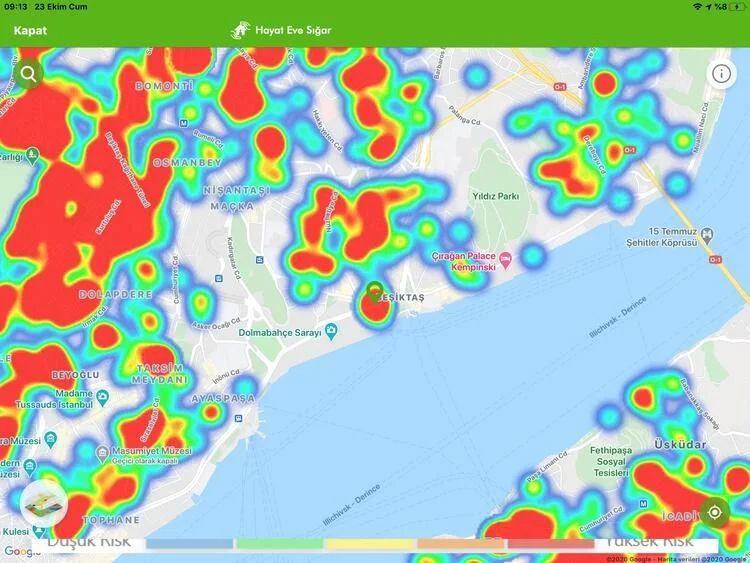 İstanbul koronavirüs haritası şoke etti! İşte ilçelerin durumu... - Sayfa 26