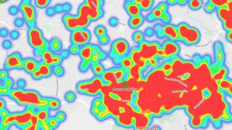 İstanbul koronavirüs haritası şoke etti! İşte ilçelerin durumu... - Sayfa 33