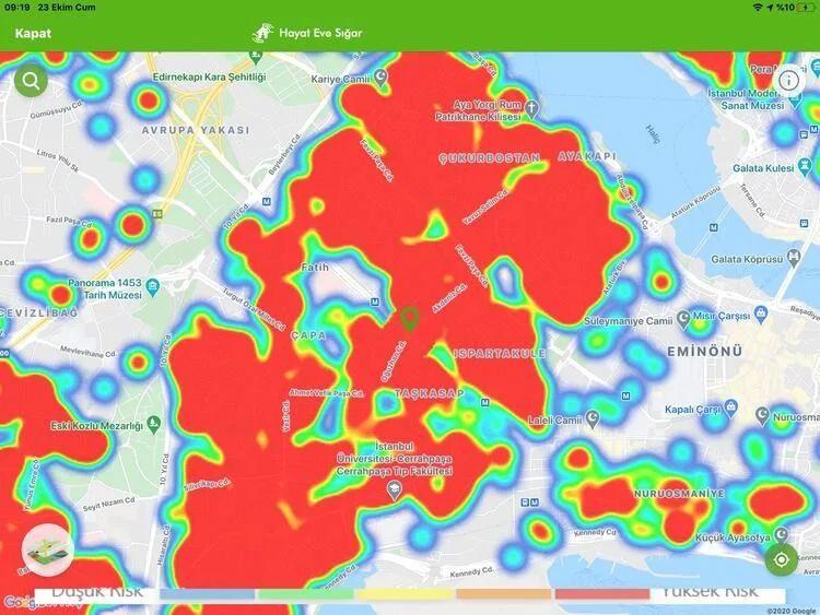 İstanbul koronavirüs haritası şoke etti! İşte ilçelerin durumu... - Sayfa 5