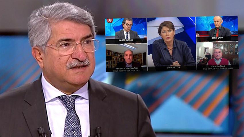 CHP'li Sağlar'dan canlı yayında 'türbanlı hakim' çıkışı! AK Parti'den çok sert tepki!