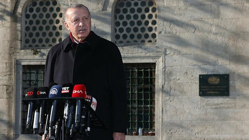 Cumhurbaşkanı Erdoğan'dan Sözcü'ye Ayasofya tepkisi: Lüzumsuz yere para verip almayın!