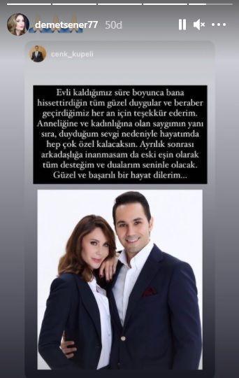 Demet Şener'le ayrılığın ardından flaş açıklama - Sayfa 4