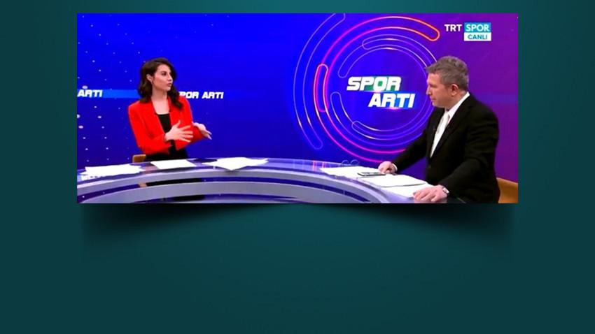 TRT spikerinin 'Mesut Özil' sorusu beyinleri yaktı!