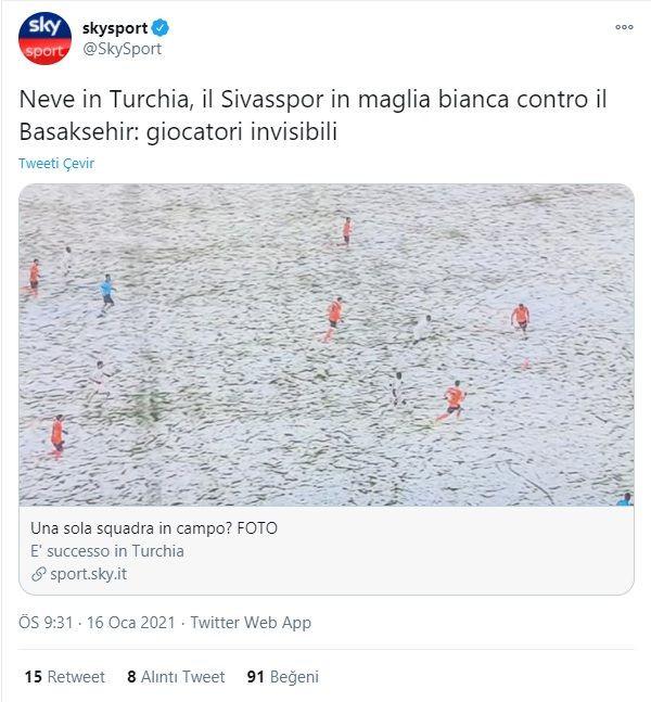 Sivasspor'un sahada kaybolduğu görüntüler dünya basınında - Sayfa 4