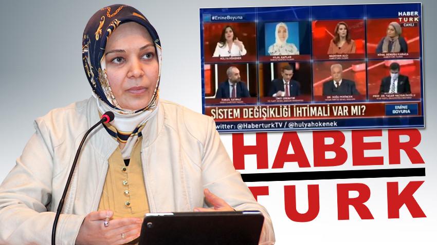 Hilal Kaplan'dan Habertürk'e 'FETÖ'cülük suçlaması! Canlı yayından atıldı!