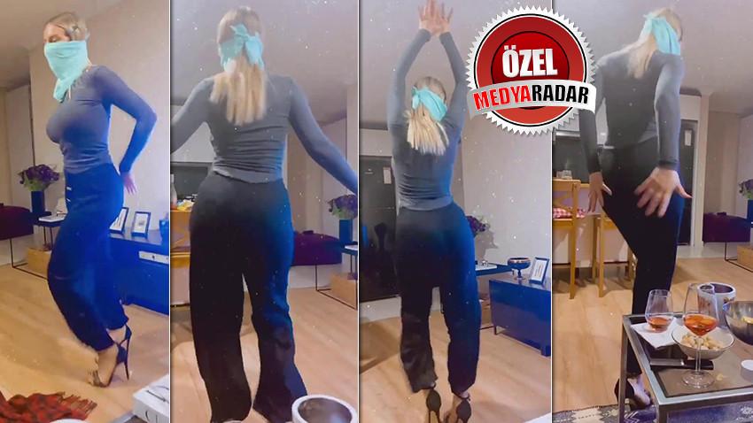 Habertürk spikeri dansözlere taş çıkarttı! Sosyal medyadan paylaştı!