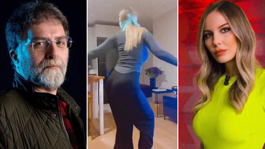 Ahmet Hakan'dan dans yüzünden kovulan Hande Sarıoğlu'na: Story şebeği...