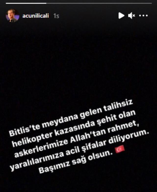 Şehit haberleri yürekleri dağladı! Ünlü isimlerden Bitlis paylaşımları! - Sayfa 1