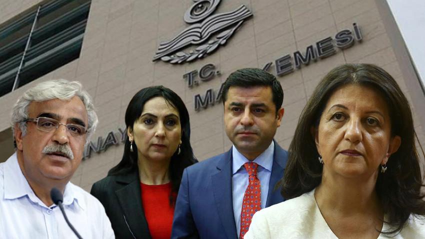 İşte HDP iddianamesinin ayrıntıları! 600'den fazla isme siyaset yasağı
