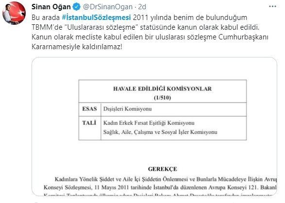 Ünlü isimlerden İstanbul Sözleşmesi isyanı! Karara böyle tepki gösterdiler - Sayfa 5