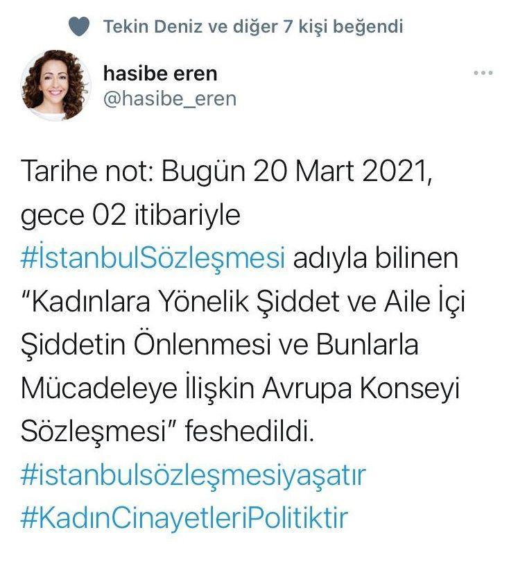 Ünlü isimlerden İstanbul Sözleşmesi isyanı! Karara böyle tepki gösterdiler - Sayfa 9