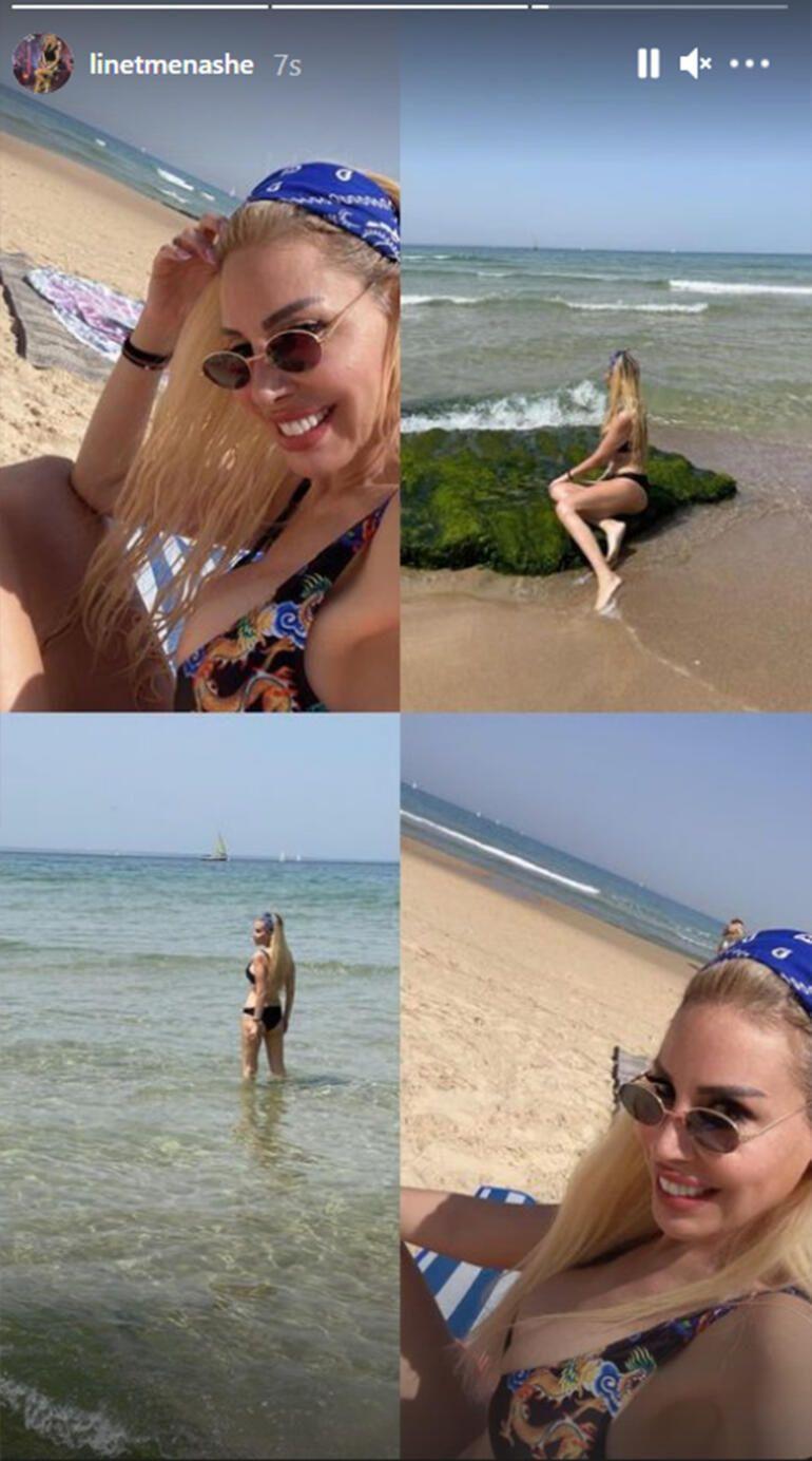 Linet'in bikinili paylaşımına yorum yağdı - Sayfa 2