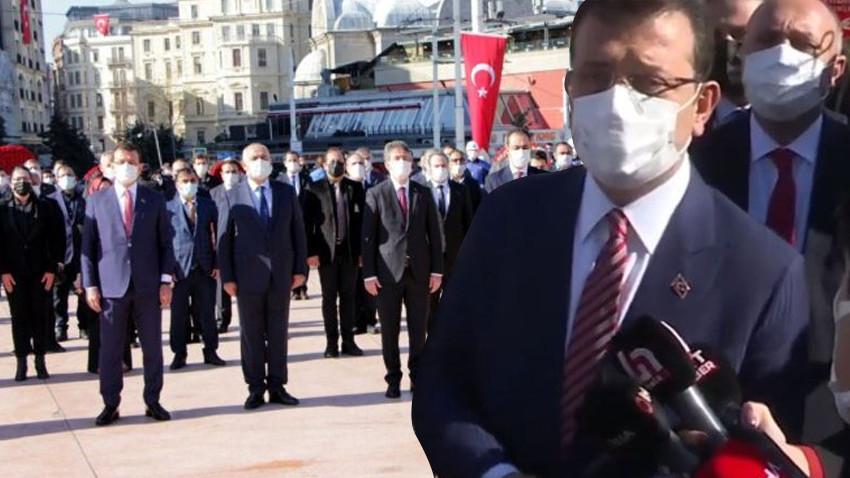 İstanbul'daki törende gergin anlar! İmamoğlu'ndan o isme sert tepki: Zavallı