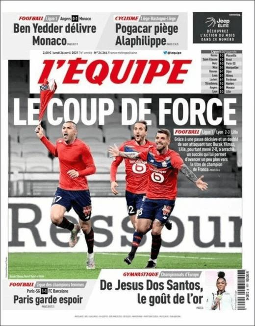 Burak Yılmaz Fransa manşetlerinde: Herkes kahramanın önünde eğiliyor - Sayfa 3