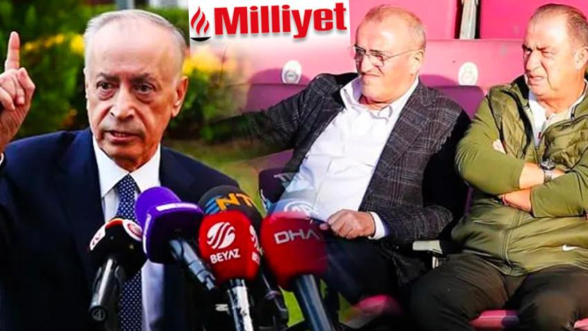 Galatasaray'dan Milliyet'e çok sert açıklama! 'Uzaktan kumandalı kalemşorların...'